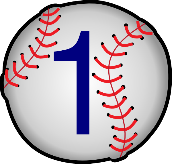 600x570 Baseball Clip Art