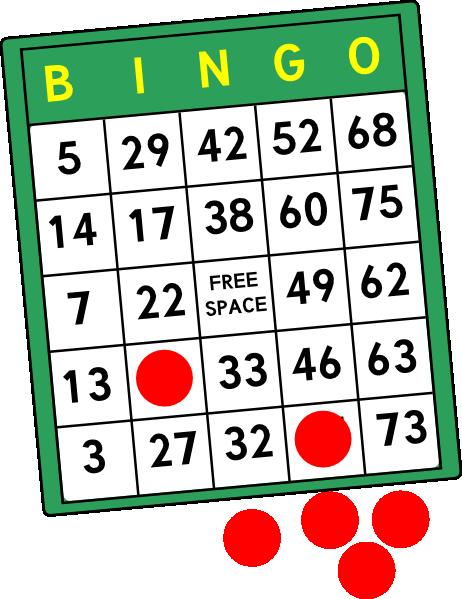 Free Clipart Bingo