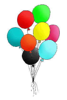 285x421 Free Birthday Balloon Clip Art Clipart Images 8