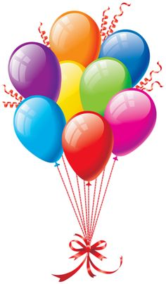 236x404 Happy Birthday Balloons Clip Art