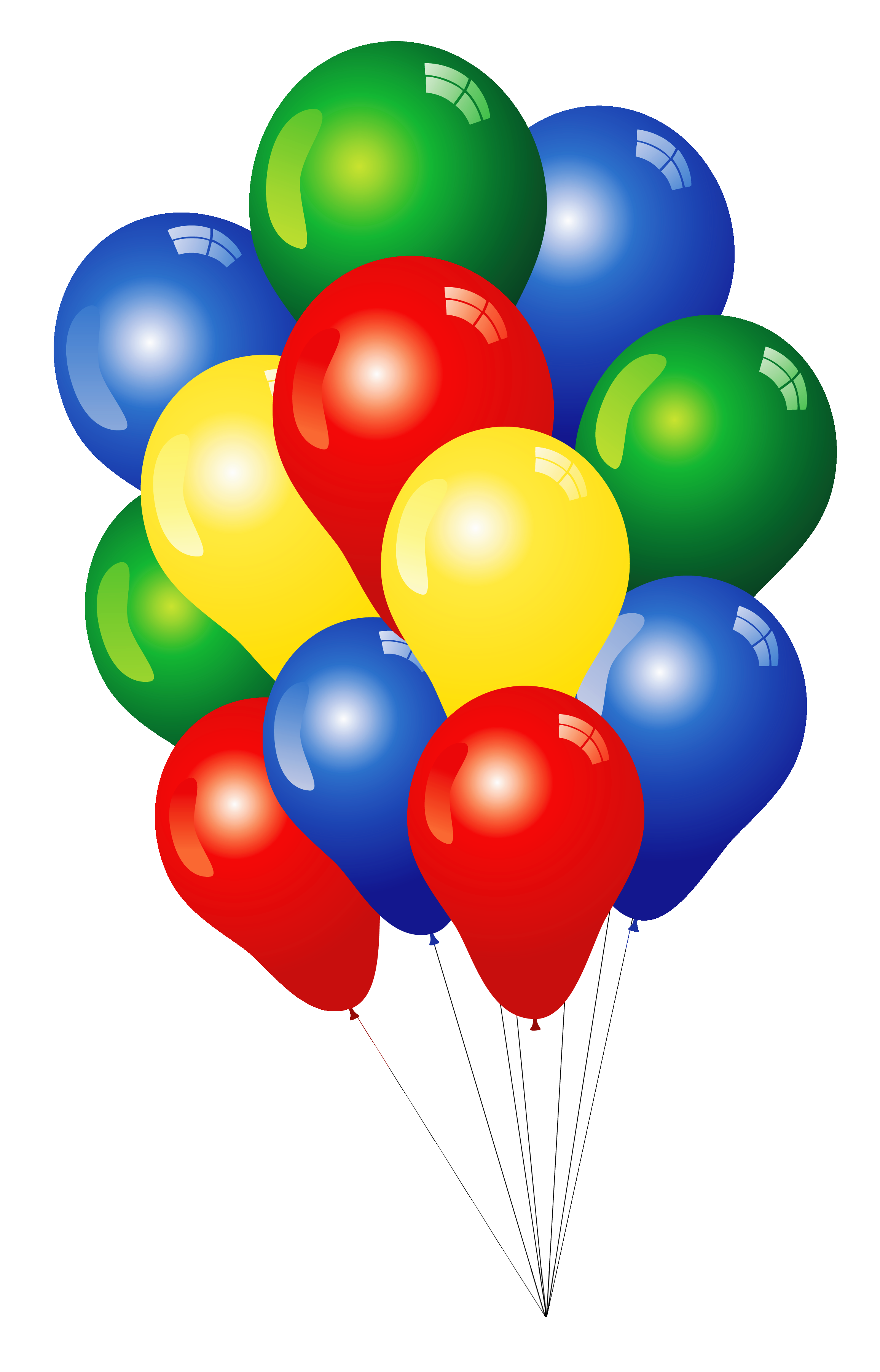 2312x3602 Happy Birthday Balloons Clipart 9 Nice Clip Art