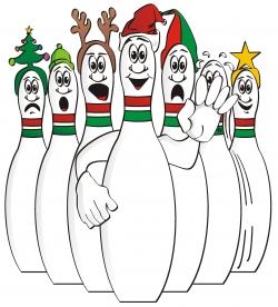 250x276 Santa Clipart Bowling