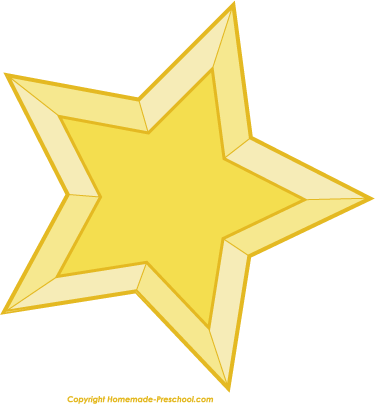 375x404 Image Of Christmas Star Clipart