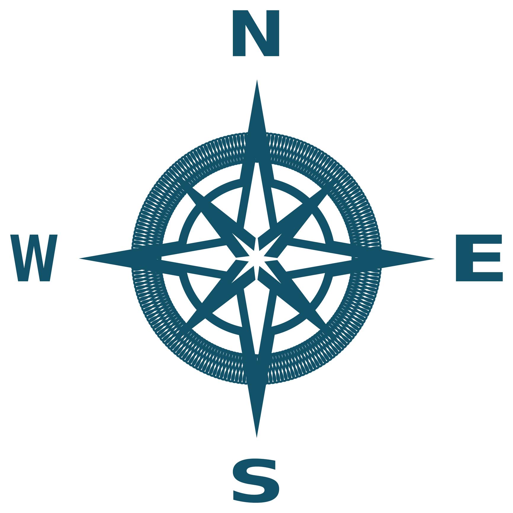 1732x1732 Compass Clip Art Symbols Download Vector Image 2