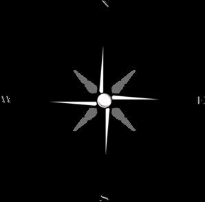 298x294 Map Compass Clip Art