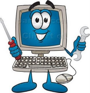 312x320 Computer Happyputer Clip Art Free Clipart Images