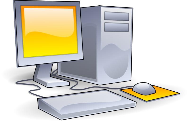 800x515 Free Desktop Computer Clipart Image
