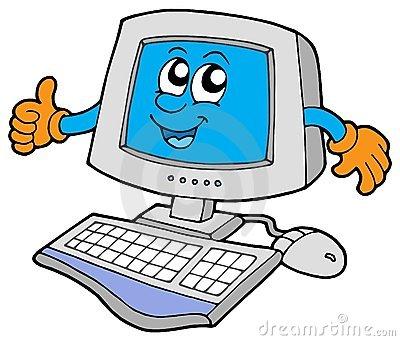 400x341 Computer Clip Art Clipart Computer Desktop Computer Clip Art Free