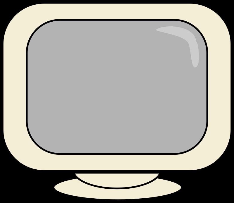 800x694 Computer Diagram Clip Art