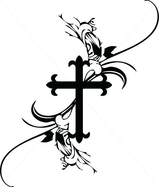 520x612 Crosses Clipart Crosses Clip Art Cross Vector Cross Clipart Free