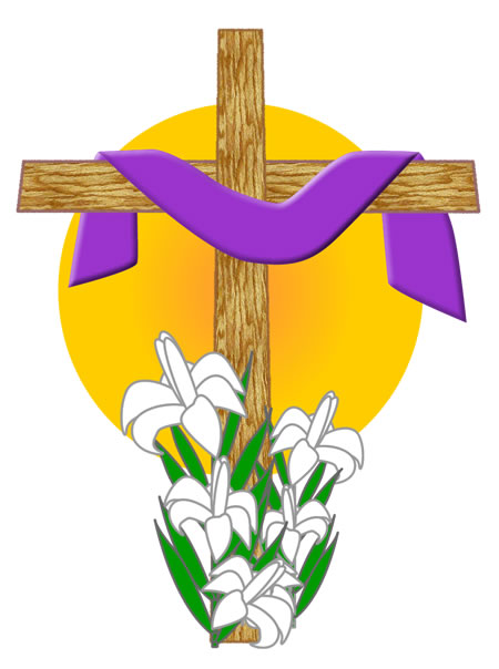 450x604 Free Clipart Easter Crosses