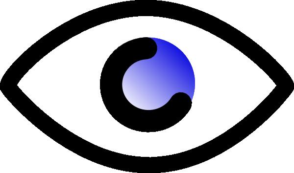 600x354 Eyeball Eye Clip Art Black And White Free Clipart Images 3 Image 2