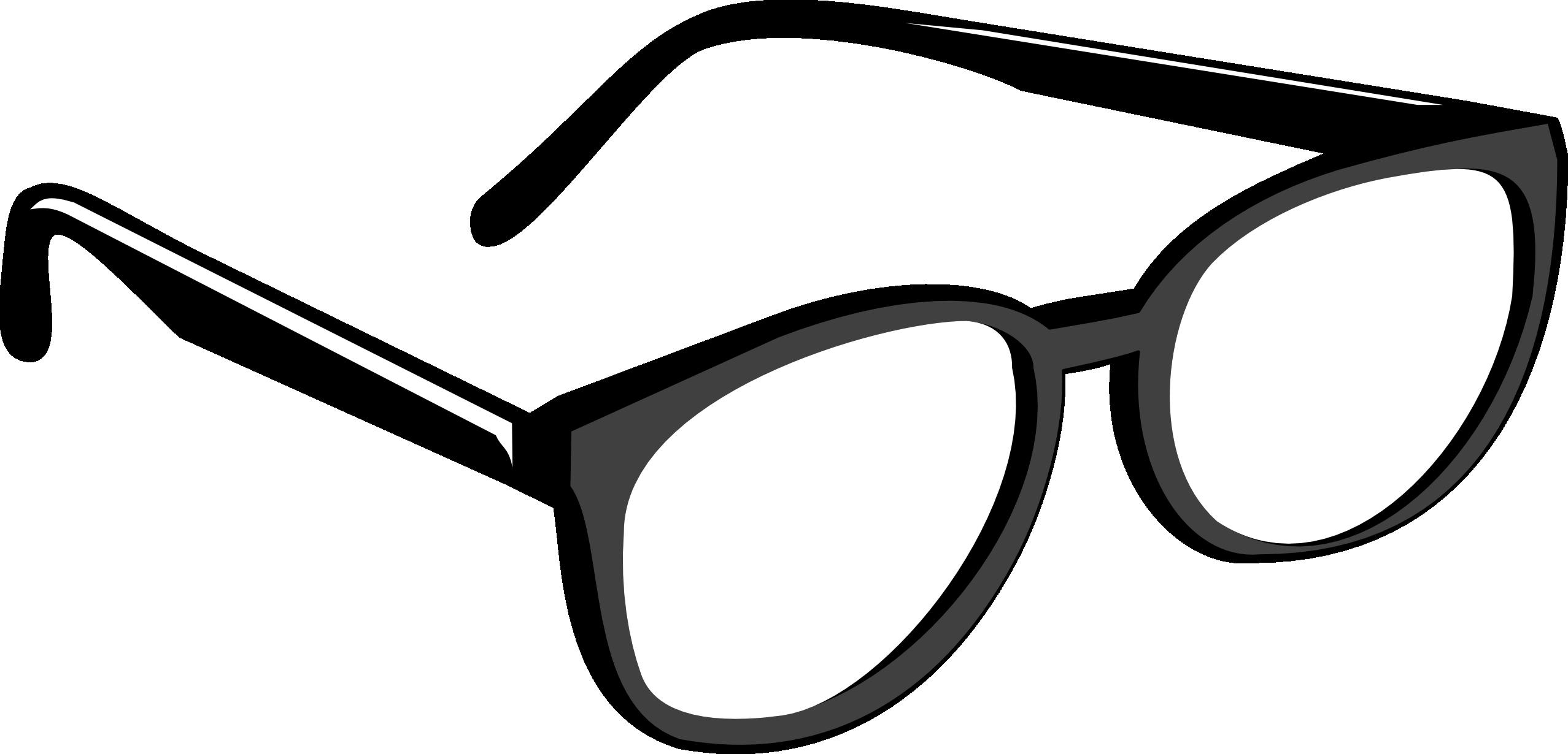 2555x1230 Eyeglasses Clip Art Free Clipart Images