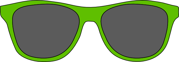 600x209 Glasses Clipart Printable