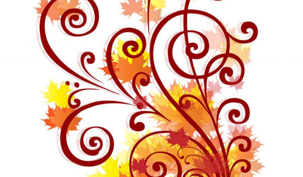 1024x600 Fall Border Fall Leaves Clip Art Image 2