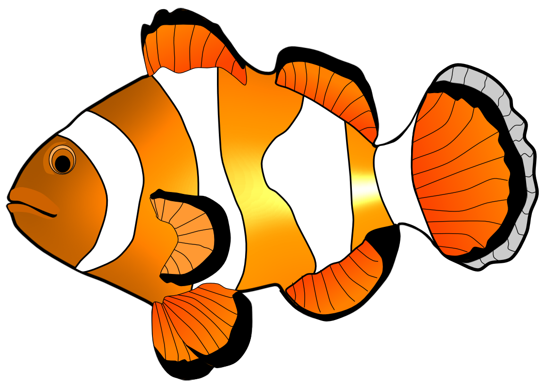 1123x794 Fish Clipart Clownfish