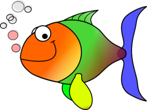 297x222 Comic Fish Clip Art