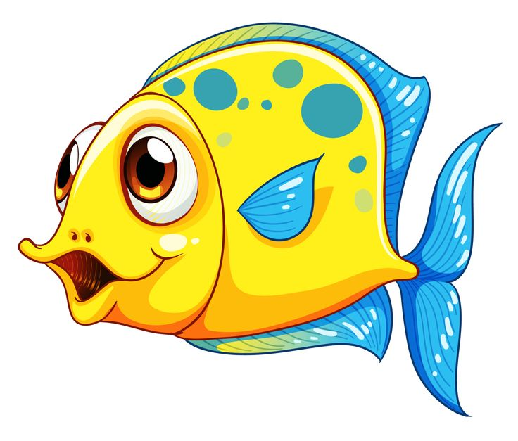 736x627 Cute Fish Clip Art Set Daily Hub Free Everyday