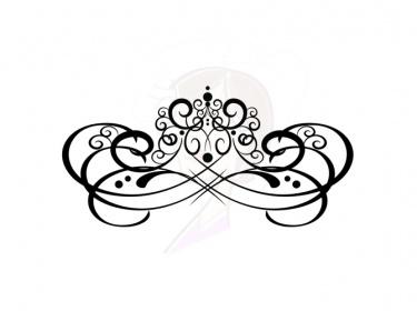 375x280 Clipart Swirls Flourishes