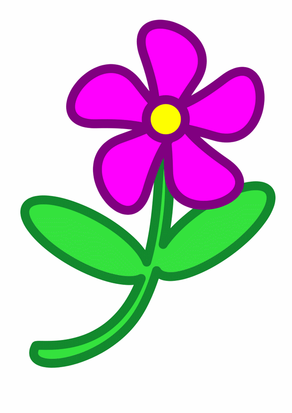 600x848 Free Clip Art Flower Clipart Clipartcow