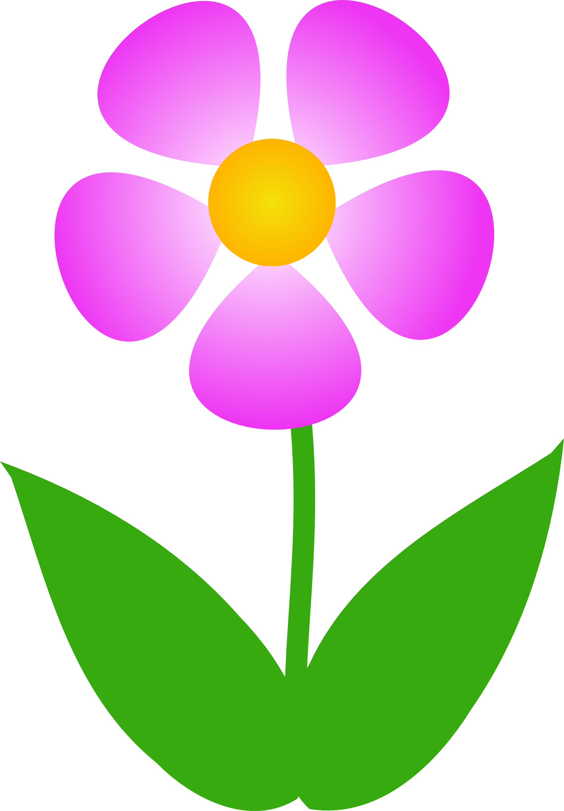 1969x2828 Free Clipart Images Of Flowers Flower Clip Art Pictures Image 1
