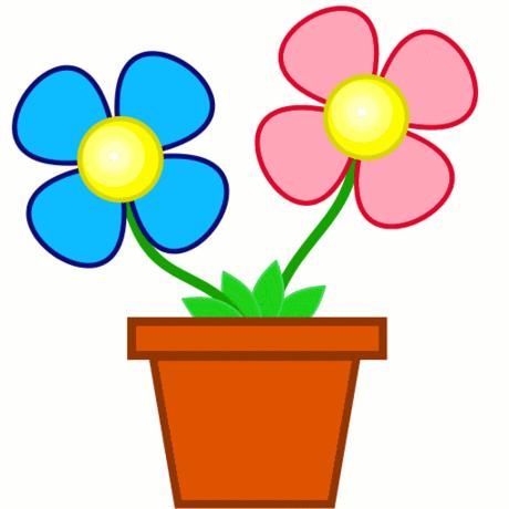 460x460 Spring Flowers Clip Art 3