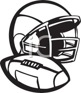 260x300 Copyright Free Clip Art Football Cliparts