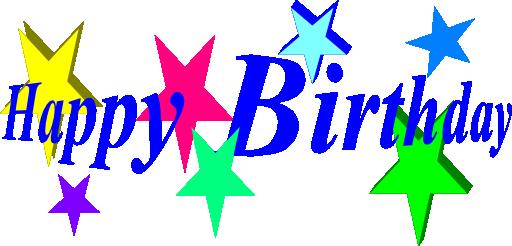 512x246 Free Birthday Happy Birthday Clip Art Clipart Free Clipart