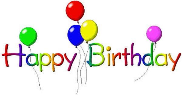 600x316 Happy Birthday Free Birthday Clip Art Happy And Birthdays Image 3