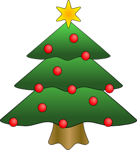 270x297 Christmas Tree Clip Art