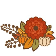 236x236 Free Clipart Fall Flowers