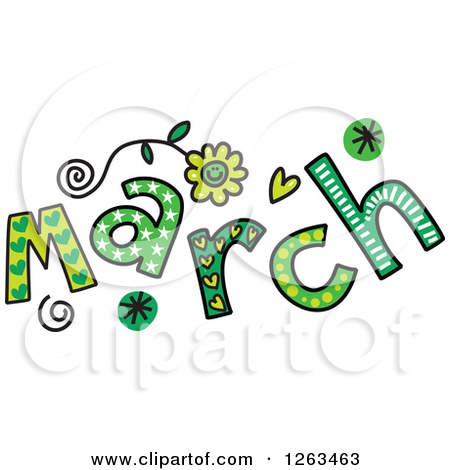 450x470 Month Of March Clip Art