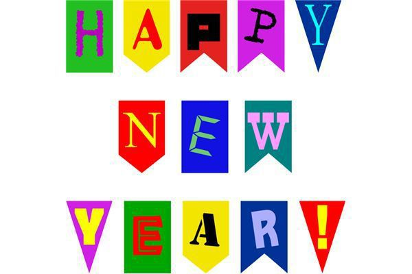 600x400 Free Clip Art Happy New Year] Happy New Year Clipart Free Download