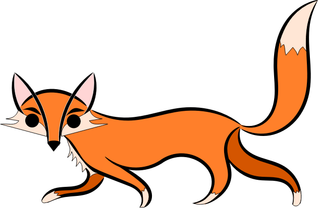 630x413 Fox Free To Use Clip Art