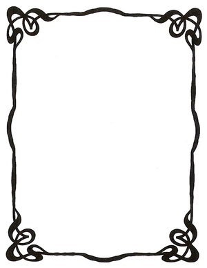 300x387 Birthday Borders And Frames Clipart Free
