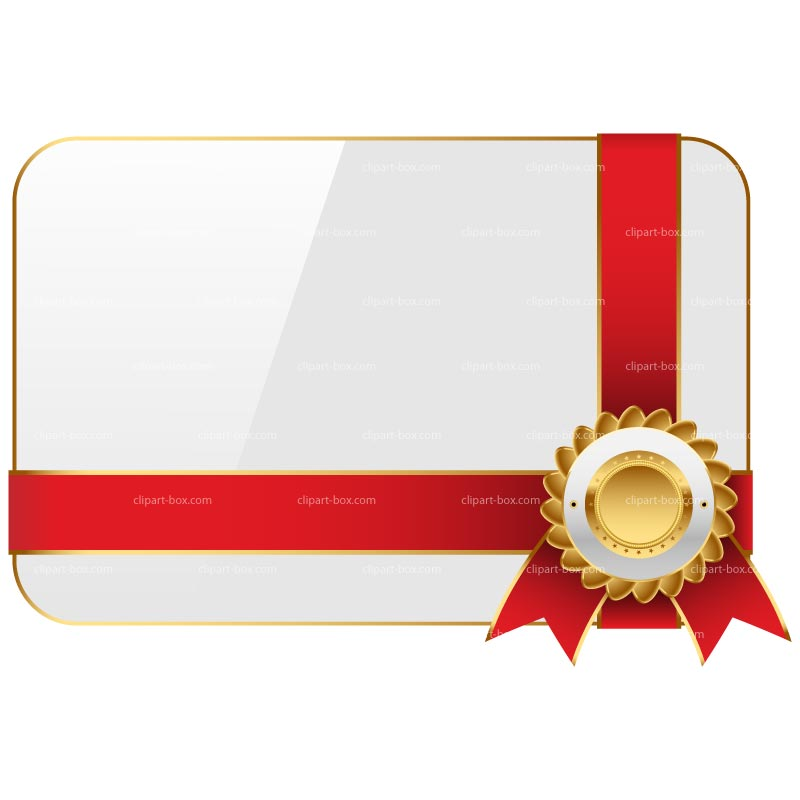 800x800 Gift Certificates Clipart
