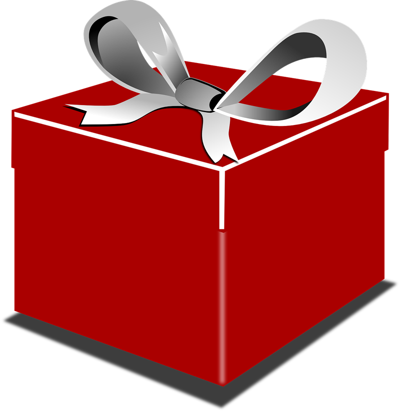 800x822 Gift Clipart Wrapped Present