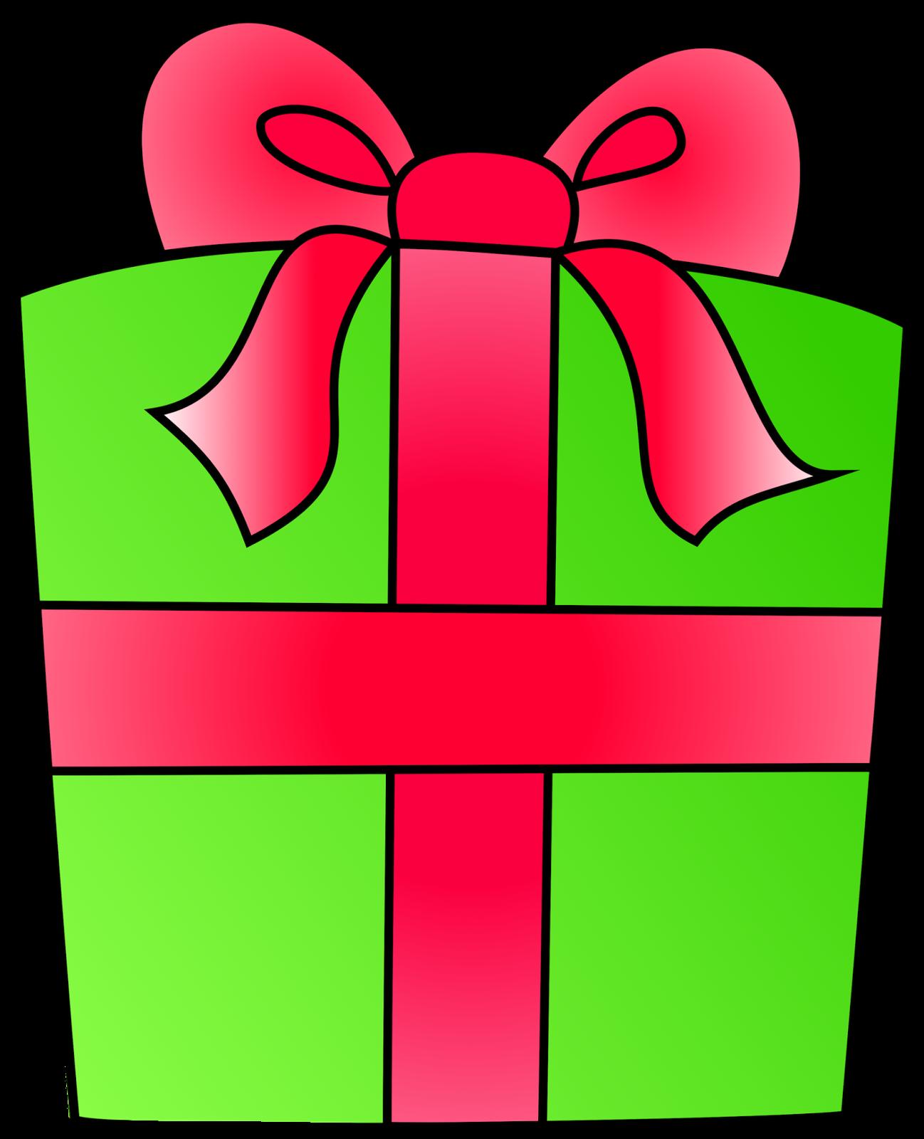 1298x1600 Present Clipart