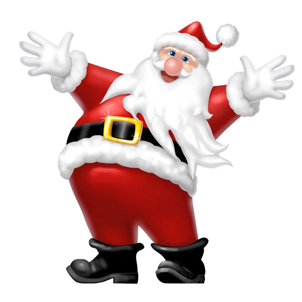 1024x1024 Christmas ~ Btaralnkc Santa Claus Gif S Workshop Clipart Free