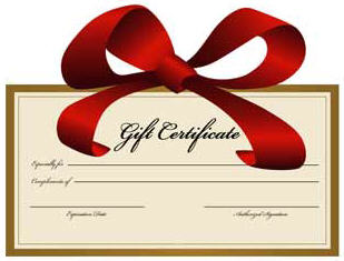 309x235 Gift Free Clipart Certificate