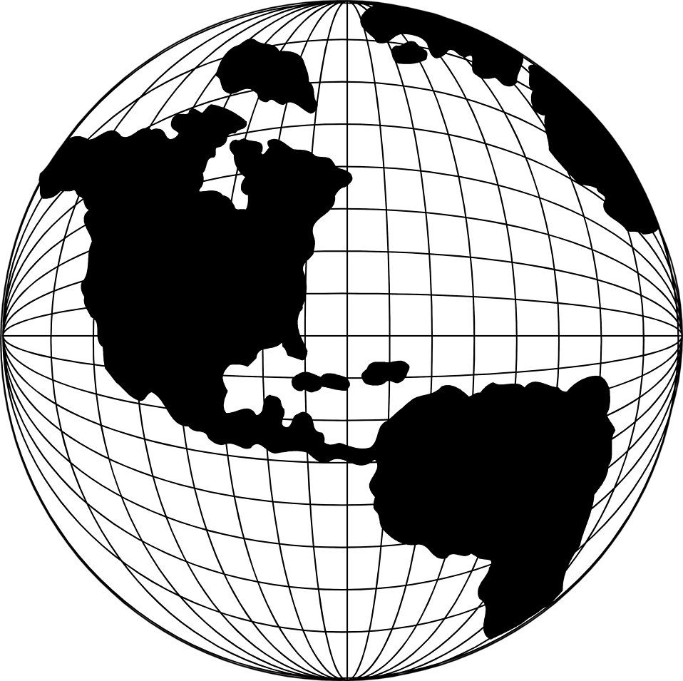 958x955 Globe Clipart Globe Map