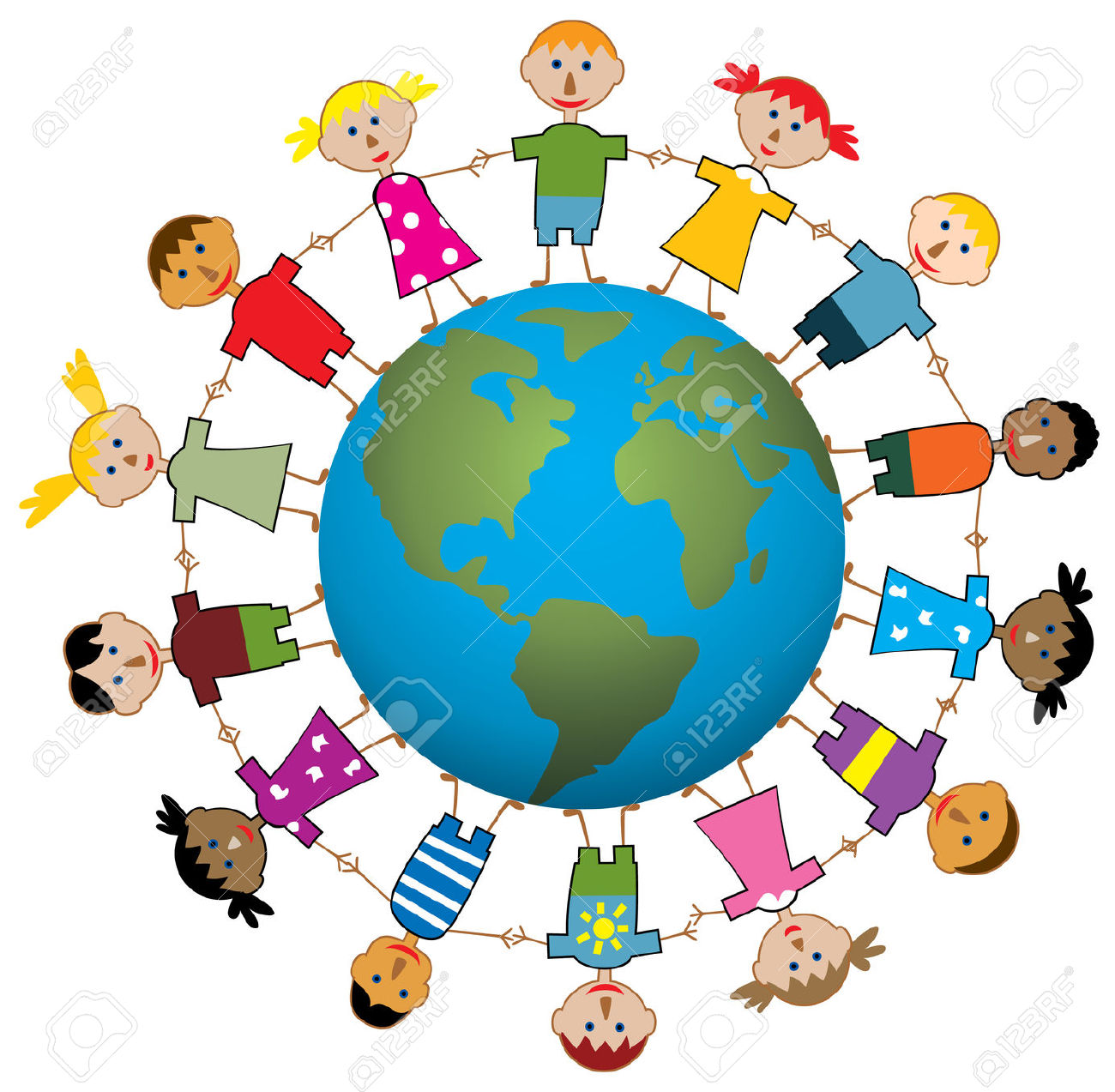 1300x1273 Children Around The World Free Cliparts Vectors And.jpg 3rd
