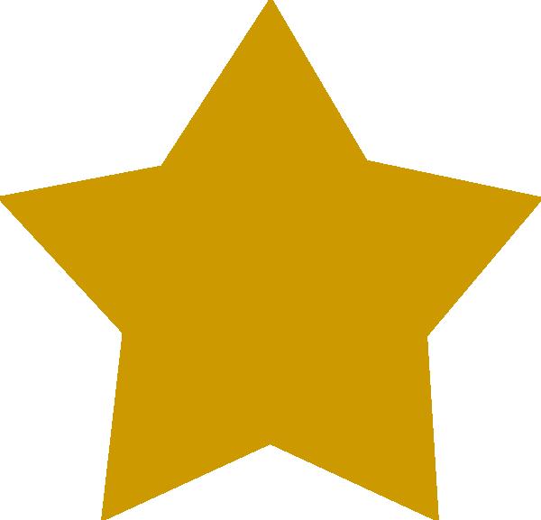 600x577 Gold Star Clipart Free Clip Art