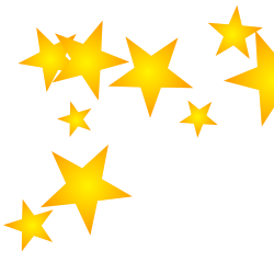250x250 Free Borders And Clip Art Downloadable Stars