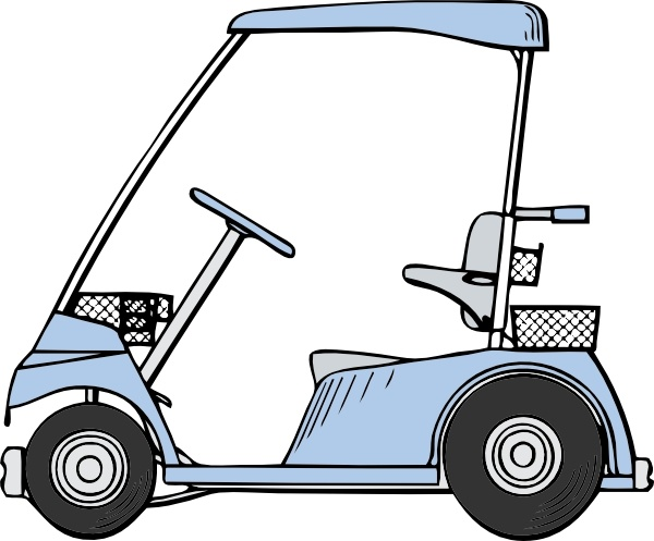 600x497 Golf Cart Clip Art Free Vector In Open Office Drawing Svg ( Svg