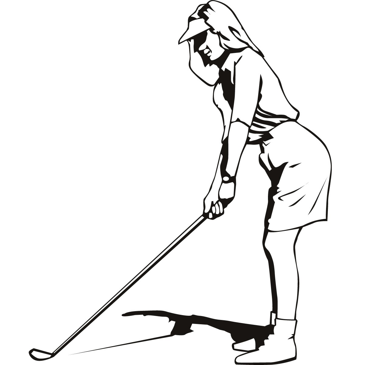 1200x1200 Golf Clips On Ladies Golf Clip Art And Free