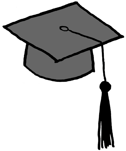 500x599 Graduation Clip Art Free Printable Free Clipart 3