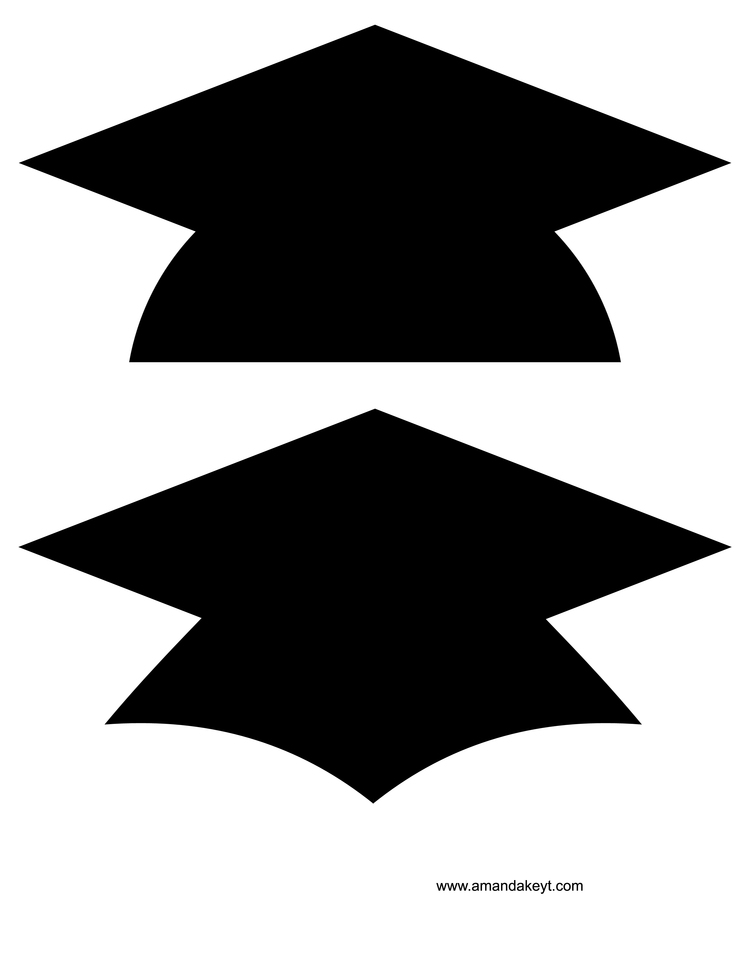 graphic relating to Printable Graduation Cap known as Absolutely free Clipart Commencement Cap Cost-free obtain simplest Totally free