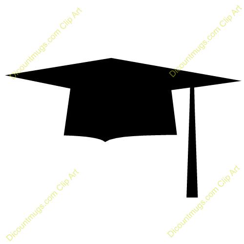 500x500 Graduation Hats Clip Art