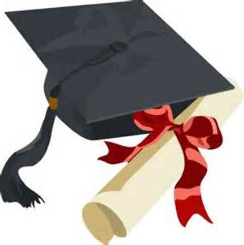 497x500 Graduation Clip Art Free Printable Clipart 4